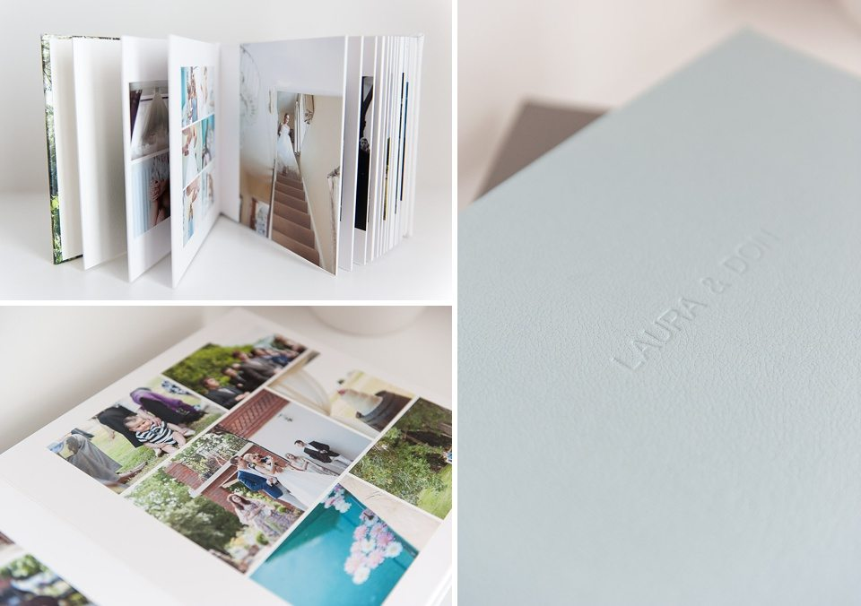wedding photography top tips with Fiona Kelly - Queensberry flushmount wedding album layout and design
