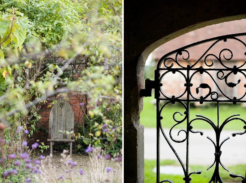 Beautiful venue at an English country garden wedding at the Walled Garden at Cowdray Sussex - natural wedding photographer © Fiona Kelly photography