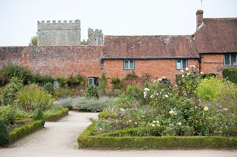 Amazing wedding venue at an English country garden wedding at the Walled Garden at Cowdray - Sussex wedding photographer © Fiona Kelly photography