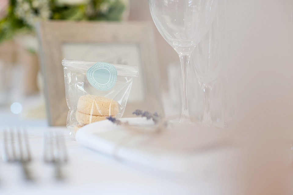 DIY wedding favour at an English country garden wedding at the Walled Garden at Cowdray Sussex - natural wedding photographer © Fiona Kelly photography