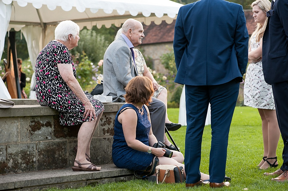 family wedding English country garden wedding at the Walled Garden at Cowdray - Sussex wedding photographer © Fiona Kelly photography
