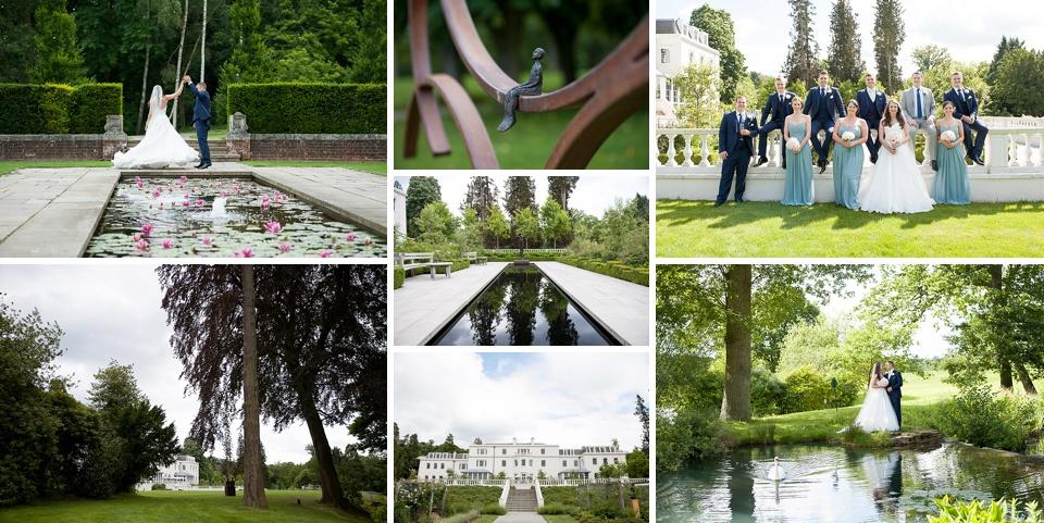 Beautiful, striking amazing Surrey wedding venues - Coworth Park © Fiona Kelly Photography
