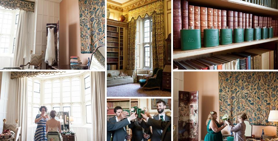 green wedding theme - historical Kent wedding venues - Leeds Castle © Fiona Kelly Photography