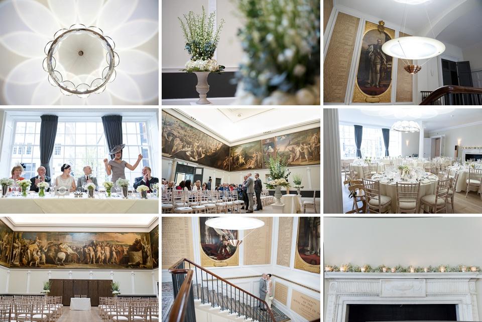 Amazing London wedding venues - RSA House © Fiona Kelly Photography