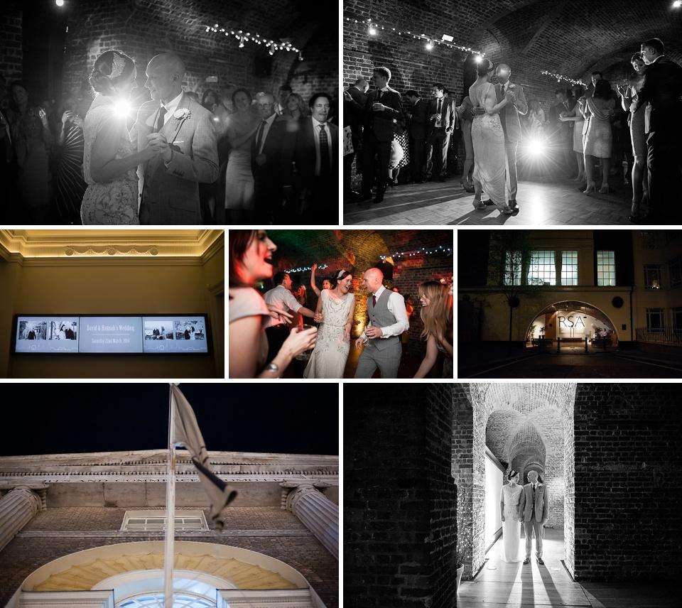 Underground wedding - Amazing London wedding venues - RSA House © Fiona Kelly Photography