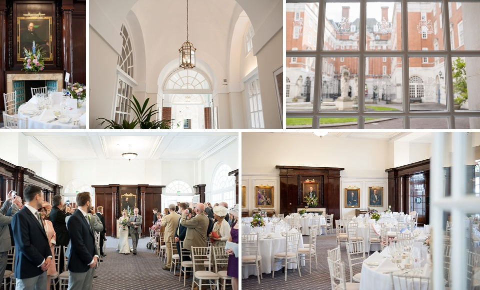Beautiful and spacious wedding venue - Amazing London wedding venues - BMA House © Fiona Kelly Photography