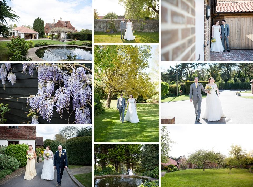 Rustic country Kent wedding venues - Oaks Farm © Fiona Kelly Photography