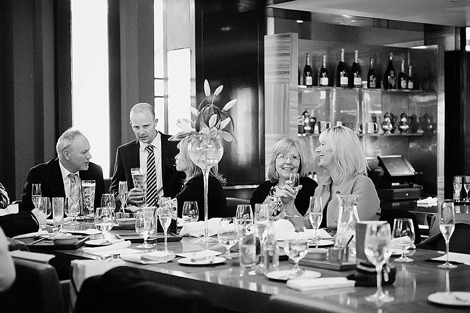 Engagement Party dinner © Fiona Kelly Photography