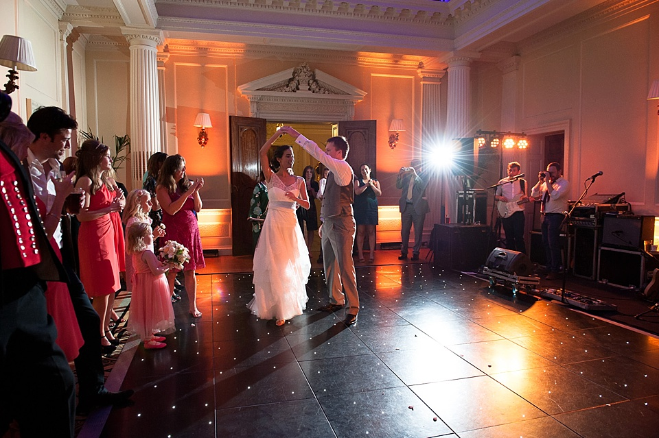 wedding first dance at hedsor house