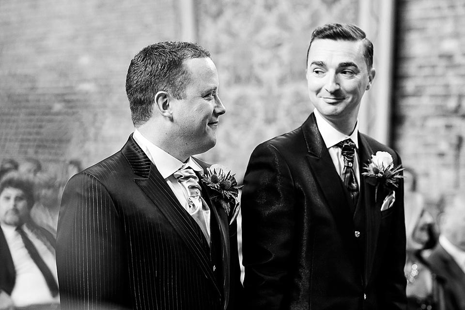 Gay wedding photography Hatfield House
