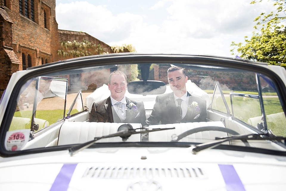 74 Gay wedding vintage Beetle