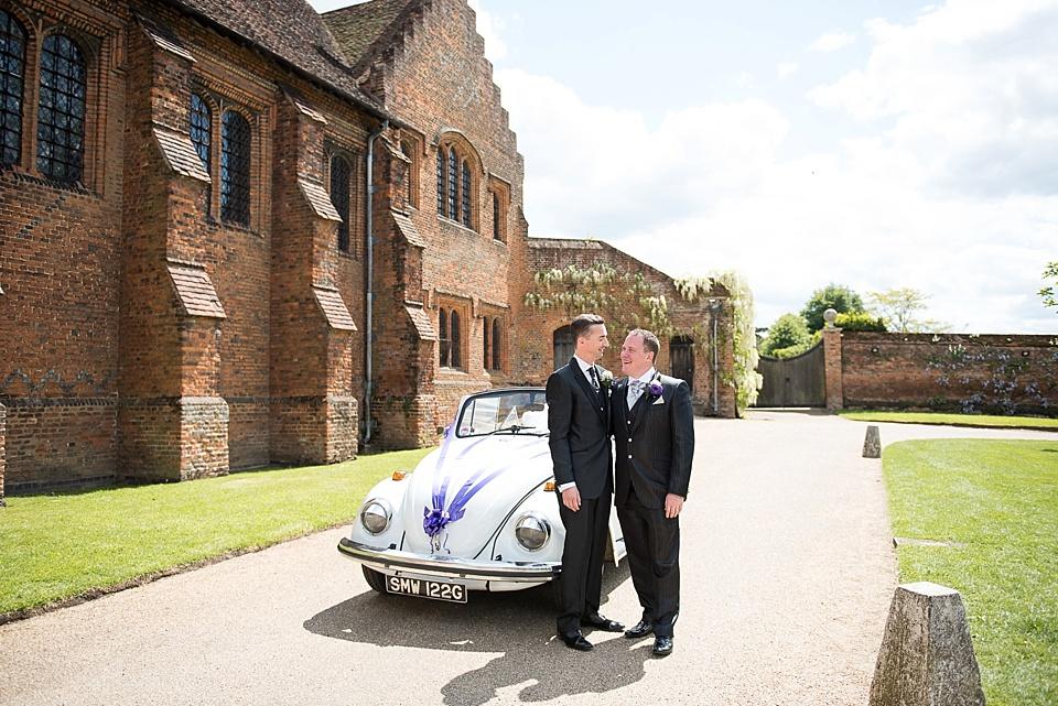 75 Gay wedding vintage Beetle