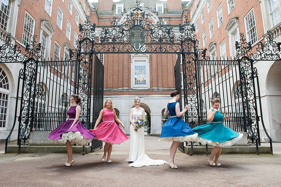 BMA House bridesmaids with petticoats