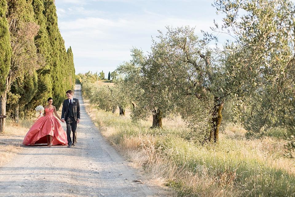 Tuscany destination wedding photography