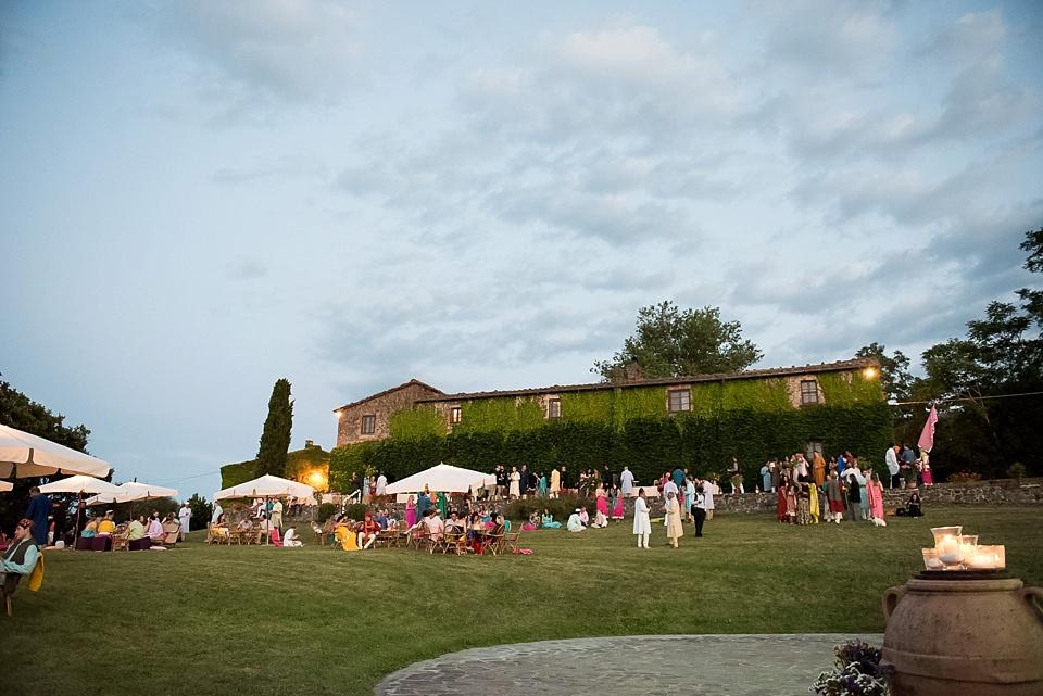 Borgo Di Castelvecchio Tuscany wedding reception