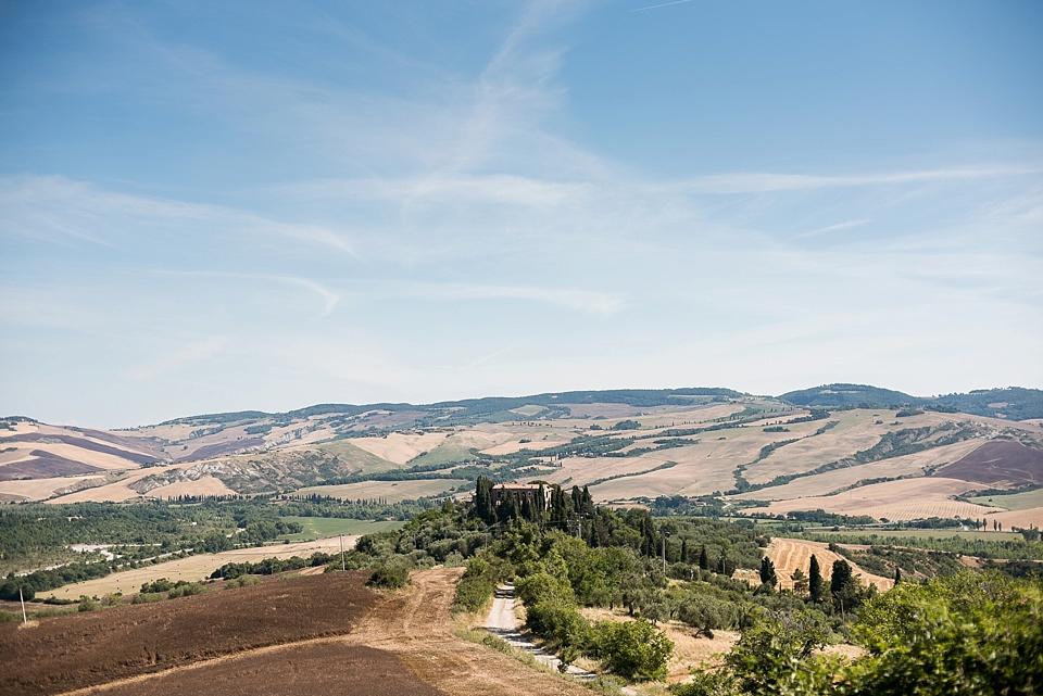 Stunning Tuscany landscape