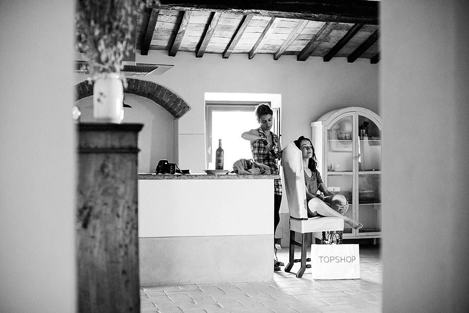 Documentary wedding photography Tuscany