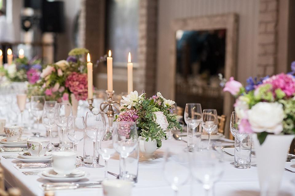 107 Rustic London pub wedding reception