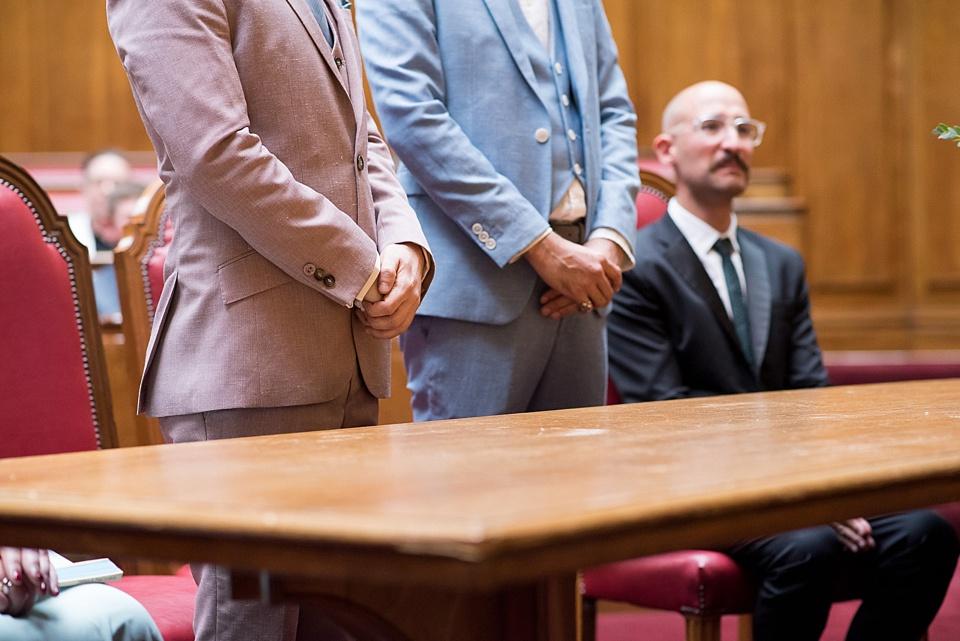 11 same sex wedding london coordinated suits