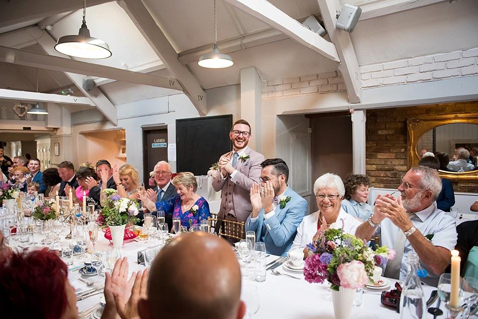 117 Lively London pub wedding reception