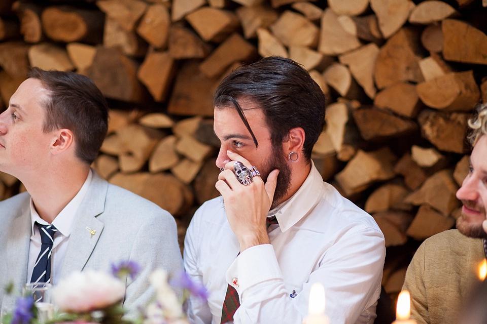 121 Emotional reaction London wedding