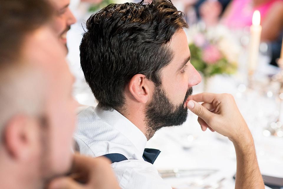 129 Bearded man wedding reception