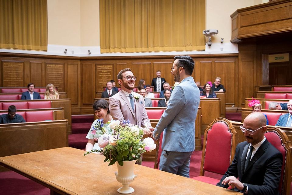 14 Same sex wedding Wandsworth Town Hall