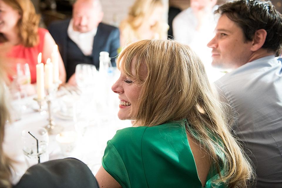 140 speech reactions London wedding