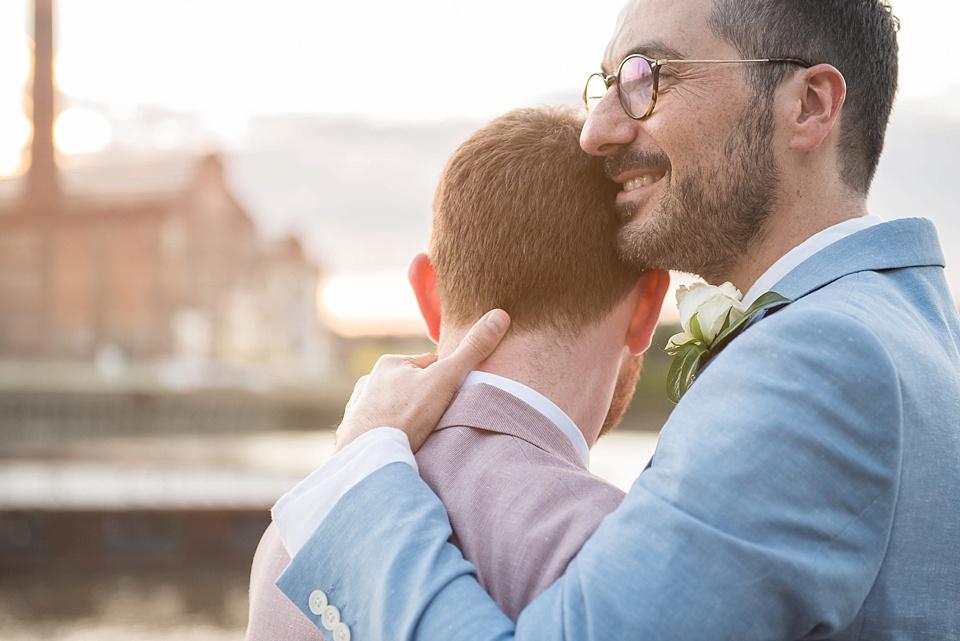 175 Just married gay couple London