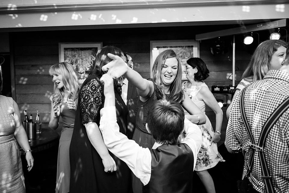 184 Mum and son dancing London wedding