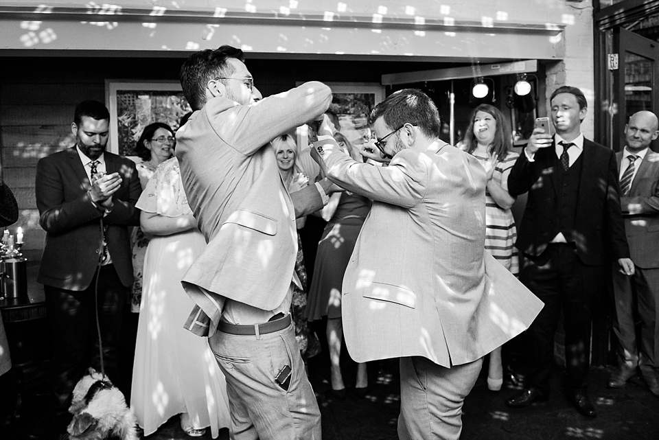 188 Two grooms first dance London wedding