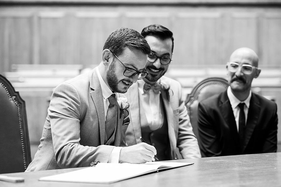 25 Signing register same sex wedding