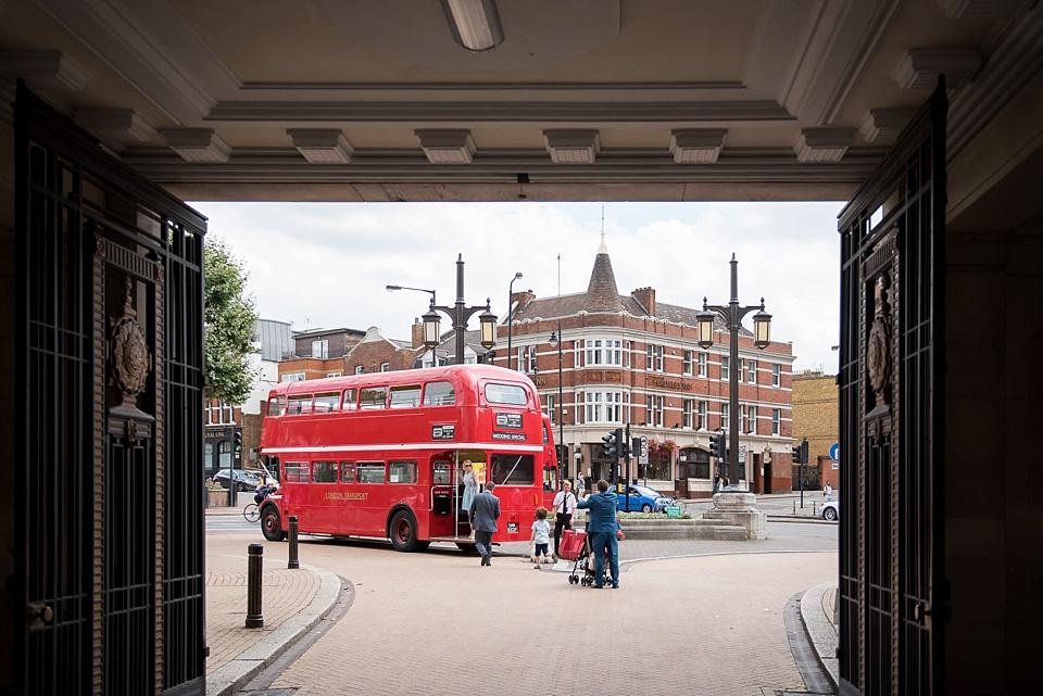 38 London routemaster wedding bus