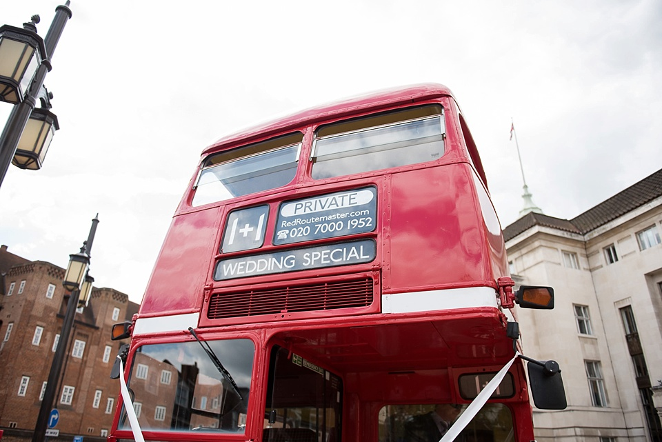 39 London routemaster bus for weddings
