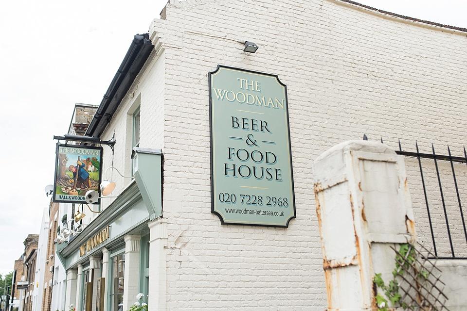 50 The Woodman pub Battersea London