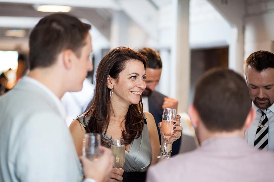 85 Champagne reception London pub