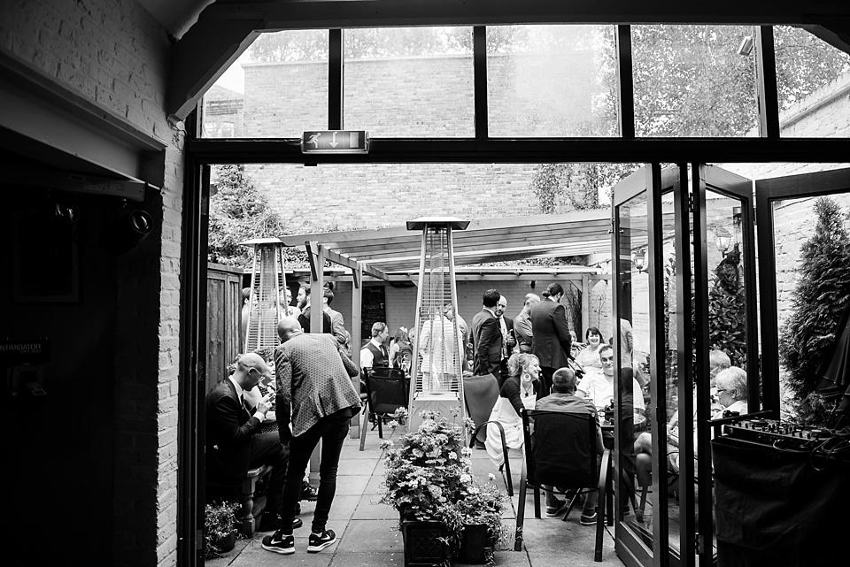 91 Woodman pub wedding reception