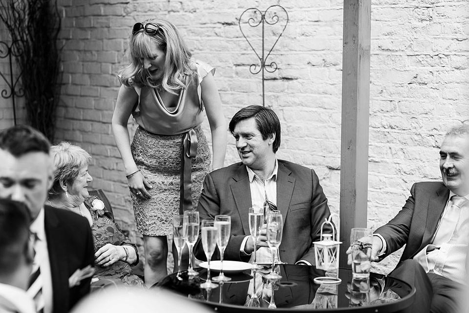 92 Relaxed pub wedding reception
