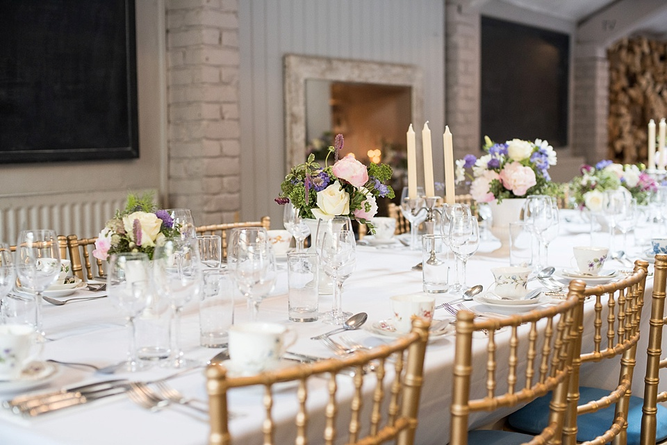 97 Wedding table set with peonies