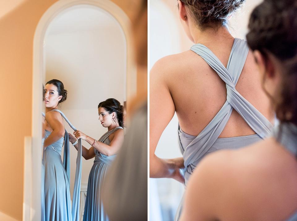 Two birds multi way bridesmaid dress