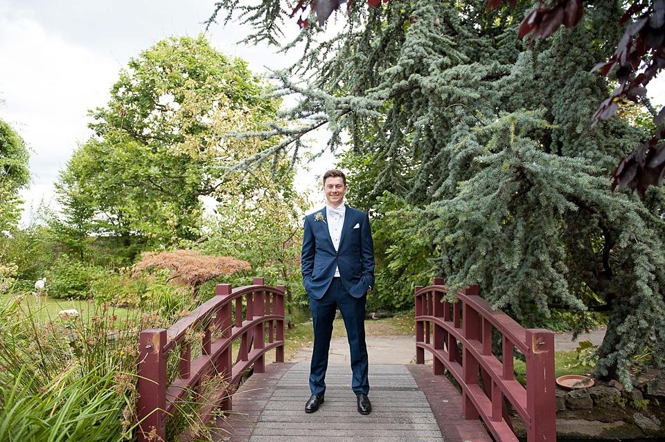 Ozwald Boateng groom Kensington wedding