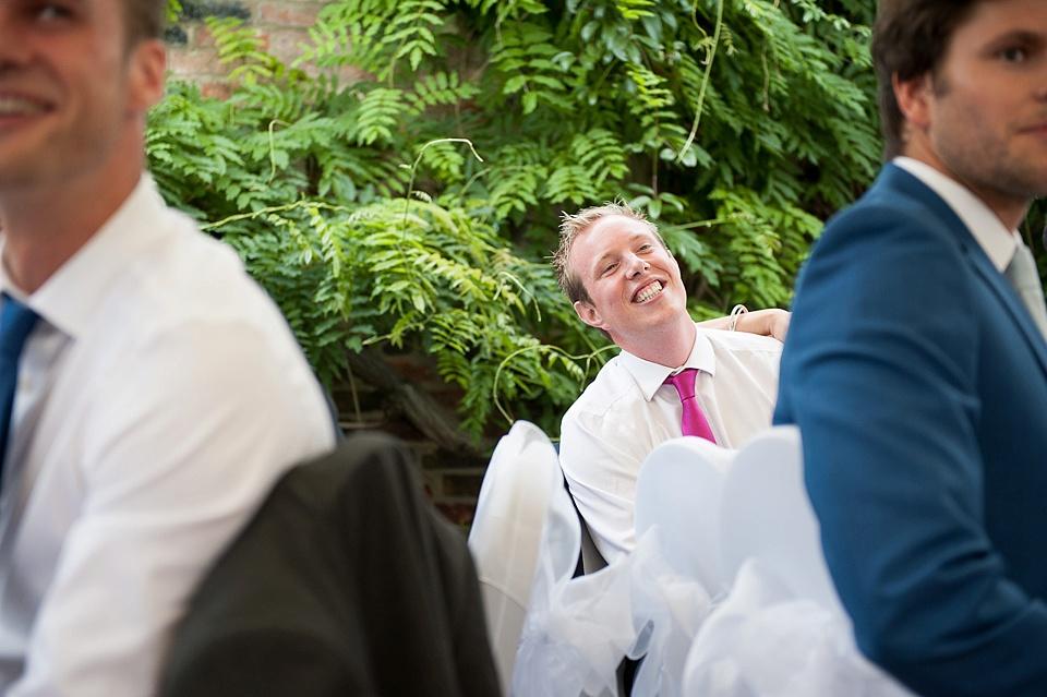 Fun moments London wedding