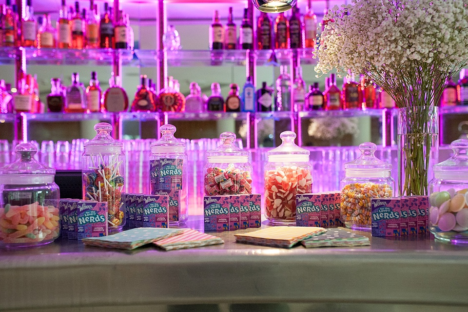 Candy table London wedding