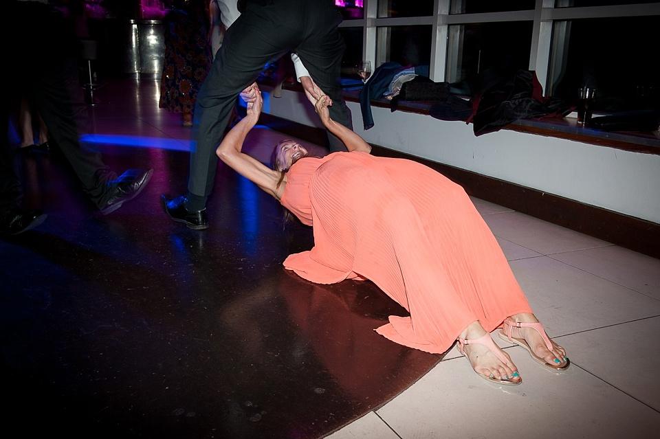 Crazy London wedding dancefloor
