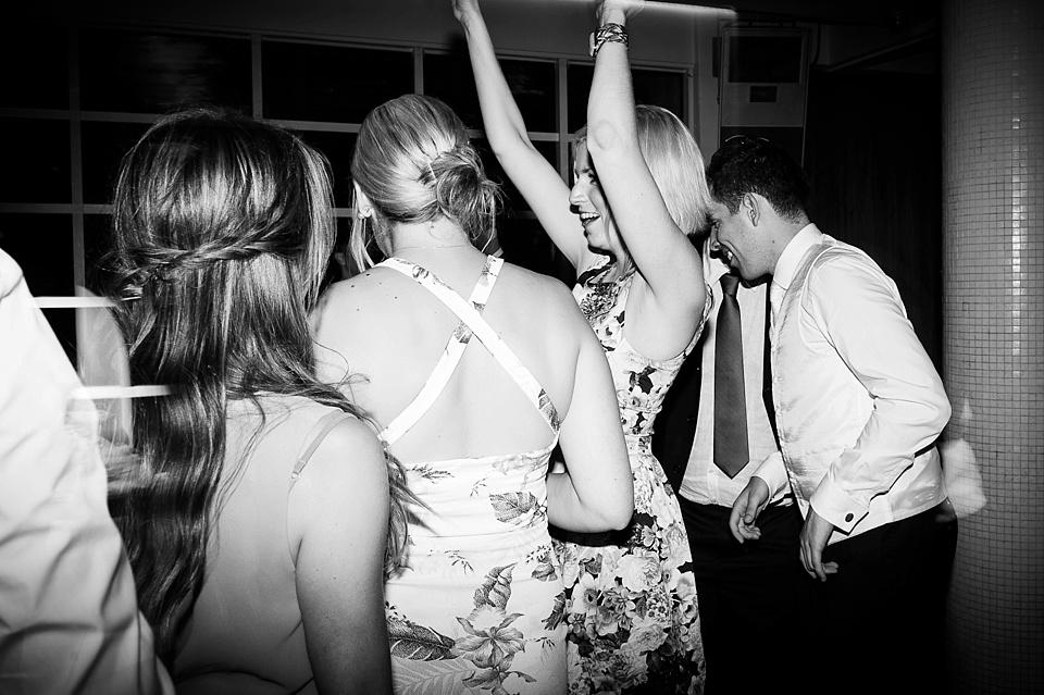 Dancefloor at London wedding