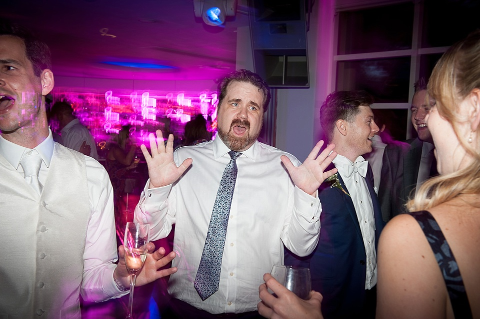 Dancefloor moments London wedding