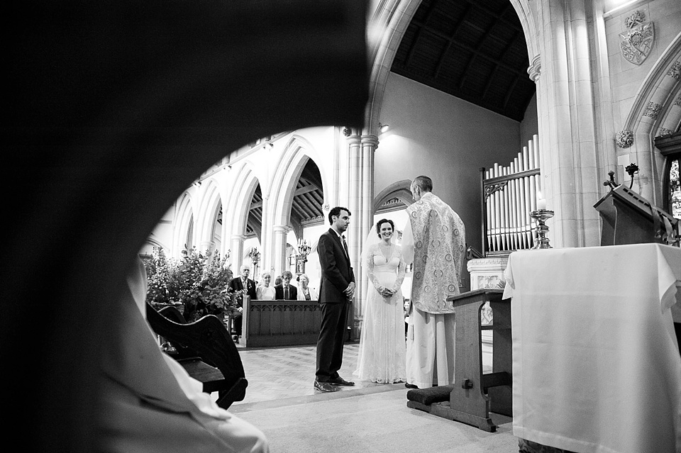 Creative church wedding photography Fiona Kelly