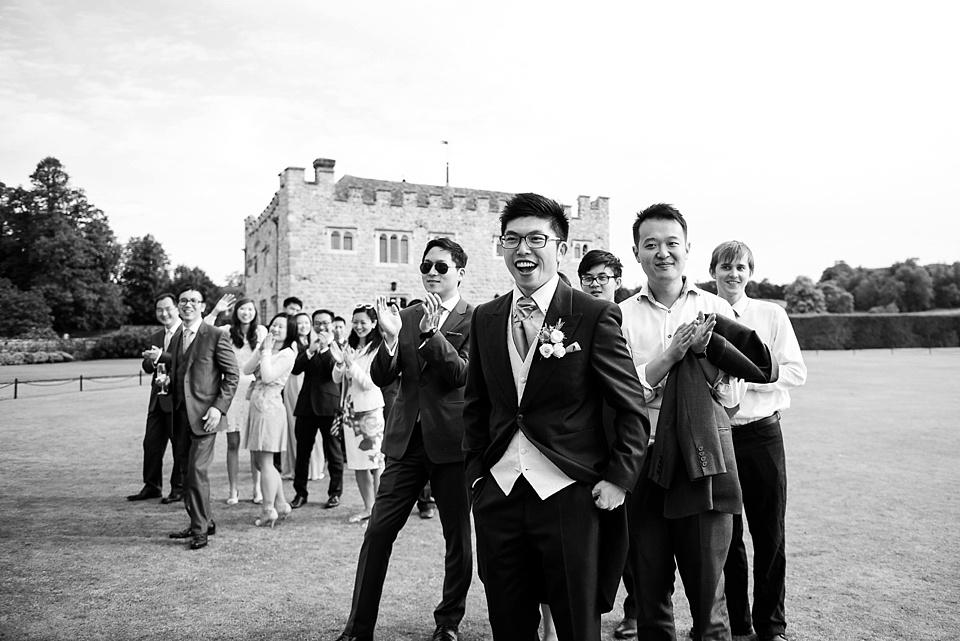 Reportage wedding photographer Kent
