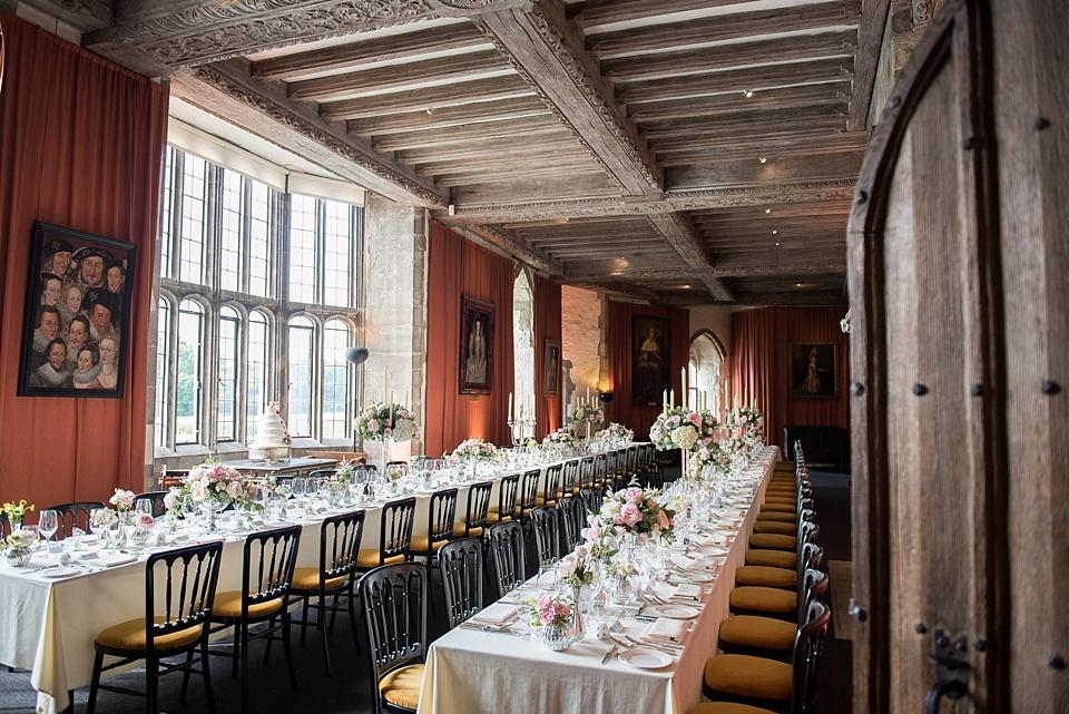 Banqueting Hall Leeds Castle wedding