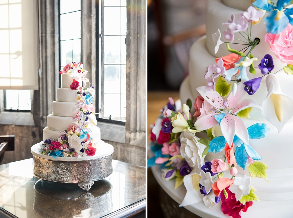 All Shapes and Slices wedding cake